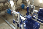 Poste de surpression 1000 m3/h - Pompage Electricité et automatisme réservoir des IV Pavés